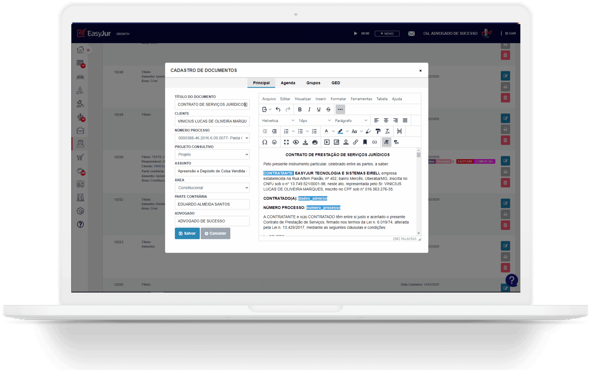 Legal Soluções Automação de Documentos